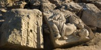 Carved blocks, Venus headless on the right