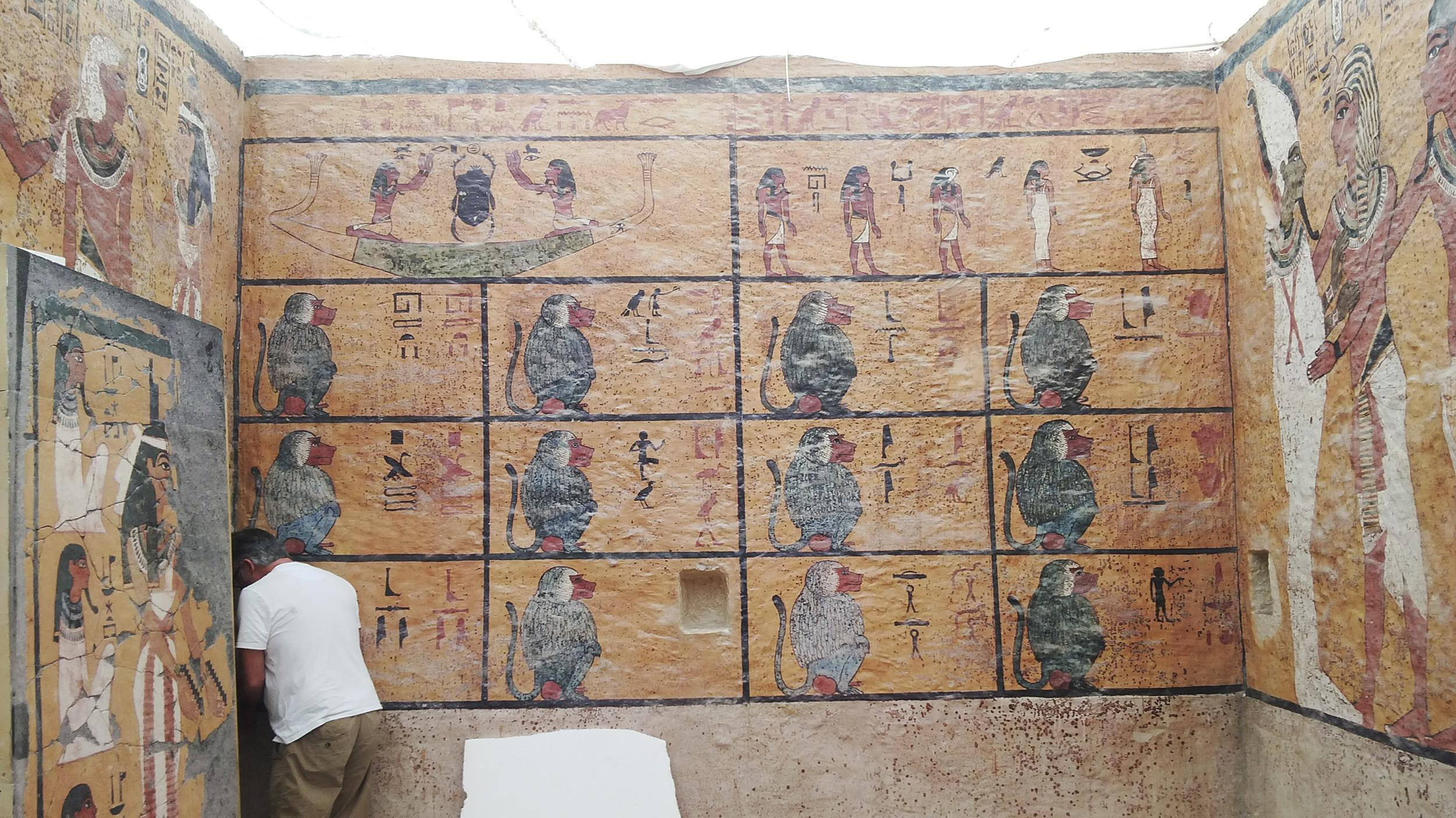 an analysis of the contents of in the tomb of tutankhamen in egypt The golden sarcophagus of king tutankhamun displayed in his burial chamber in the valley of the kings, egypt, on november 28, 2015 efforts to find a secret chamber in his tomb have led nowhere.