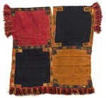 Four-color tunic, Paracas, 100 B.C. - 100 A.D., image courtesy Gothenburg Museum of World Culture