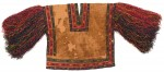 Hummingbird tunic with fringe, Paracas, 100 B.C. - 100 A.D., image courtesy Gothenburg Museum of World Culture