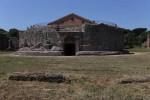 Front entrance of Mausoleum of Romulus