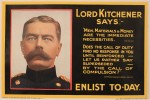 Official Kitchener recruitment poster, 1915, sold at the same auction for £500 ($855)