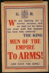 &quotMen of the empire to ARMS!&quot, PRC recruitment poster 1914