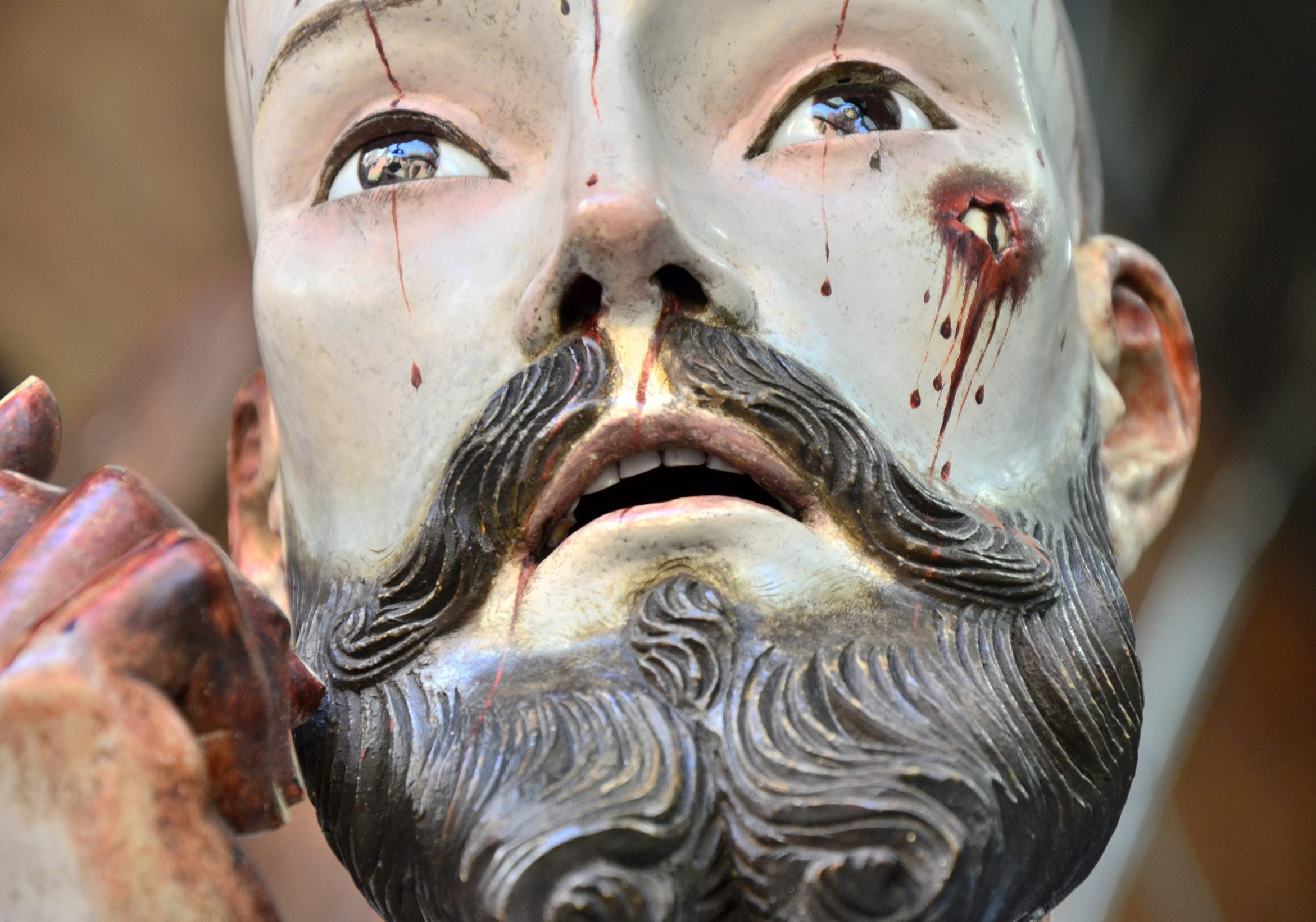 The History Blog » Blog Archive » 18th c  sculpture of Jesus