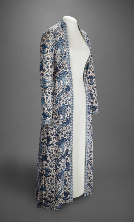 Woman's dressing gown (Wentke), Coromandel Coast, India, ca. 1740