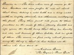 Thomas J. Rusk's handwriting, Texas Hero font