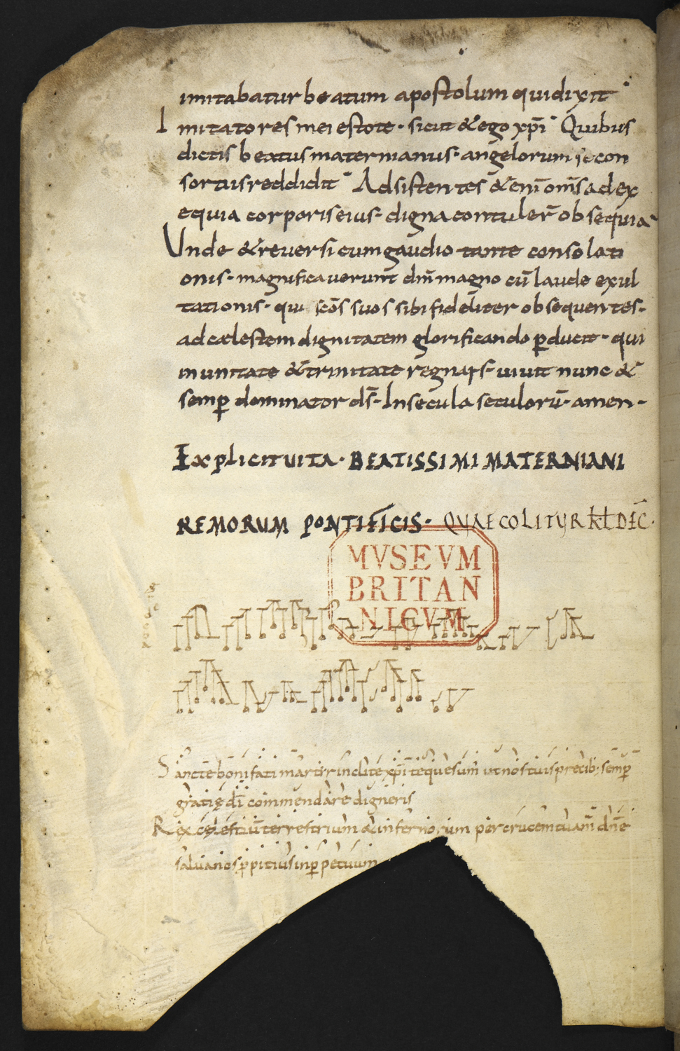 oldst dated manuscript