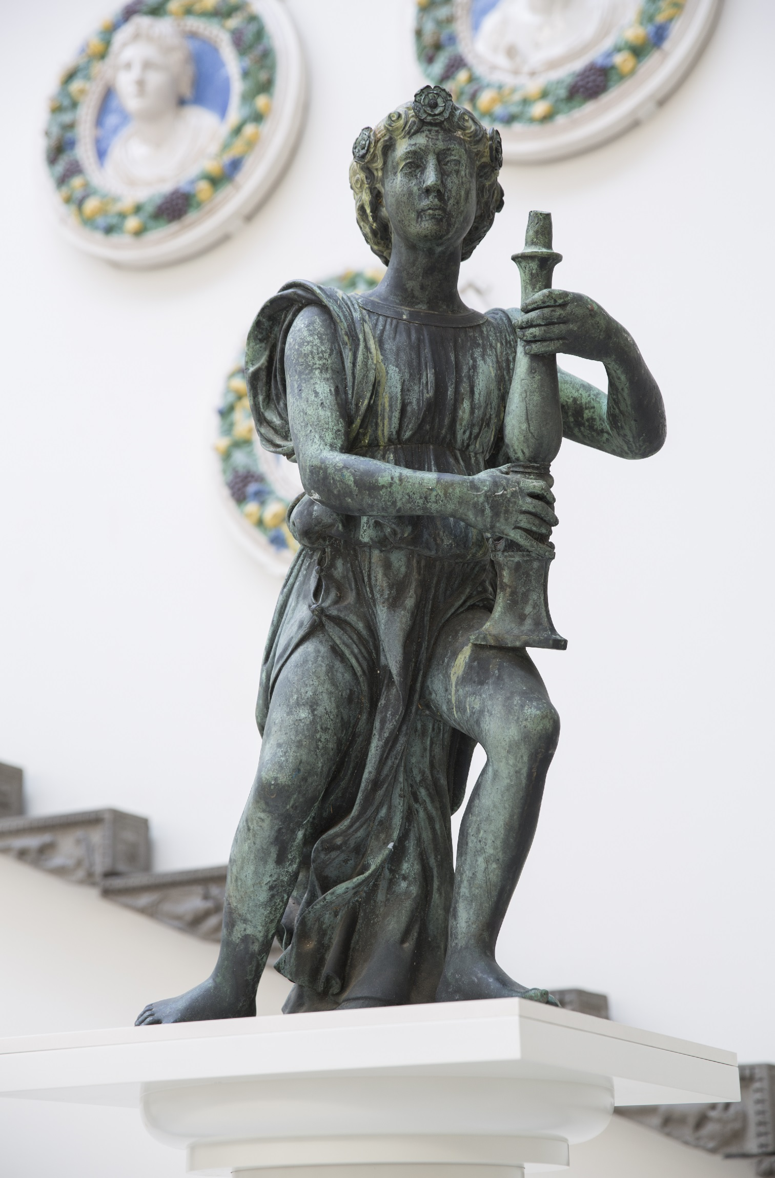 The History Blog February - Artist makes angel sculpture from more than 100000 confiscated weapons