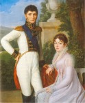 Portrait of Jérôme Bonaparte, King of Westphalia, and Queen Catharina, by Sebastian Weygandt, 1810