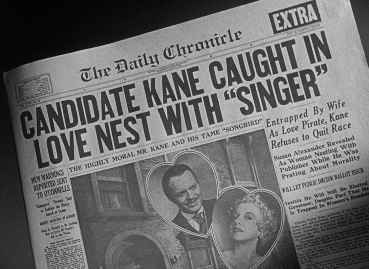 the history blog blog archive citizen kane to be screened at