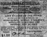 Ticket to the 1915 picnic
