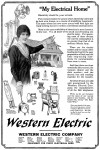 Western Electric ad in October 16th, 1915 issue of The Literary Digest