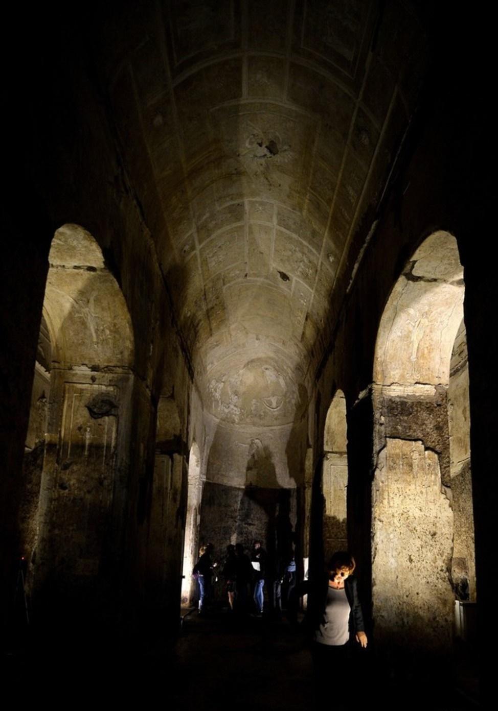 The history blog blog archive mystery basilica under for Porta maggiore