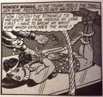 "Panel from ""America's Guardian Angel"" Sensation Comics #12, December 1942"