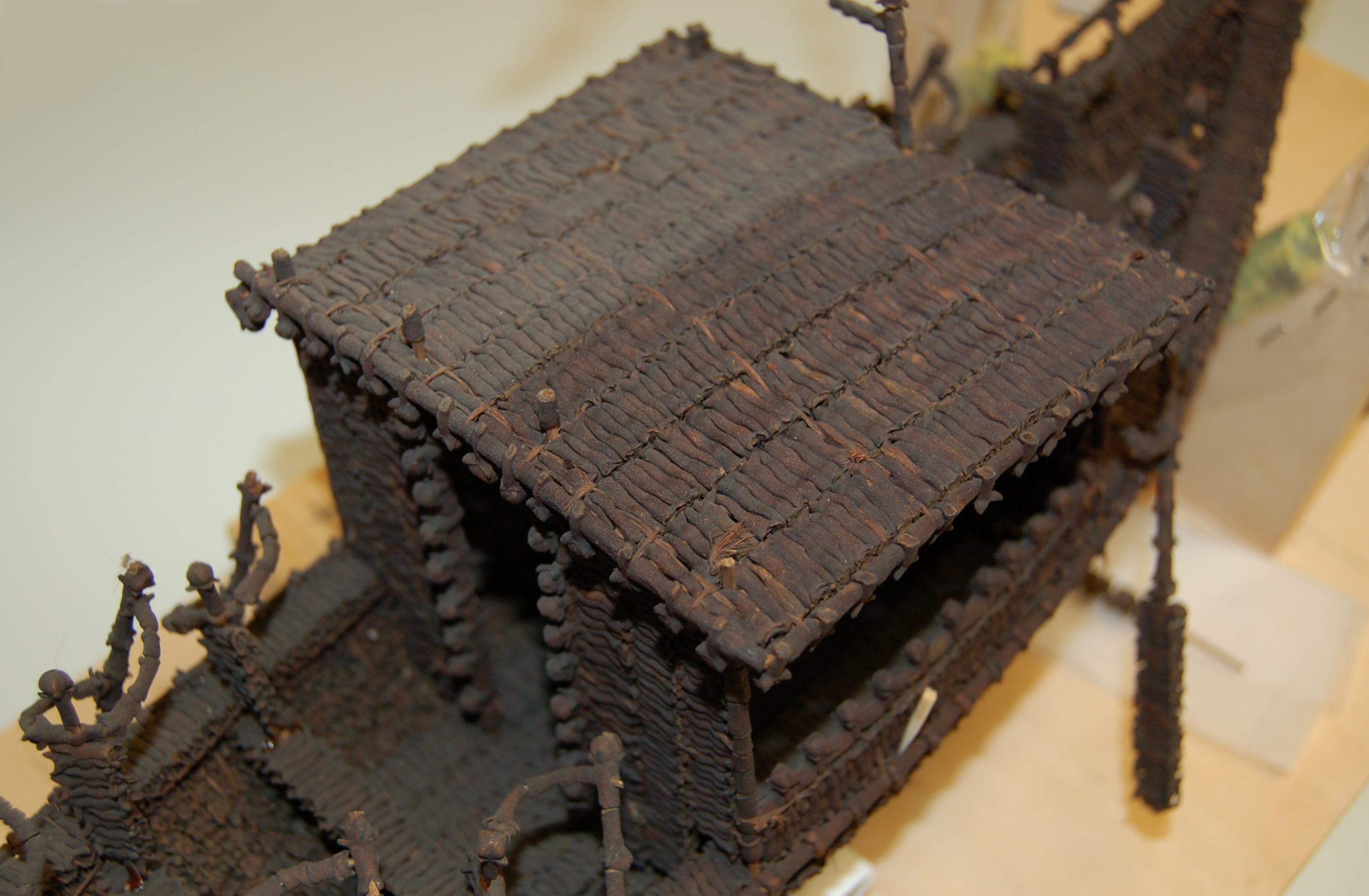 The ... & The History Blog » Blog Archive » Conserving a boat made of cloves