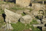 Remains of Arch of Titus at Circus Maximus