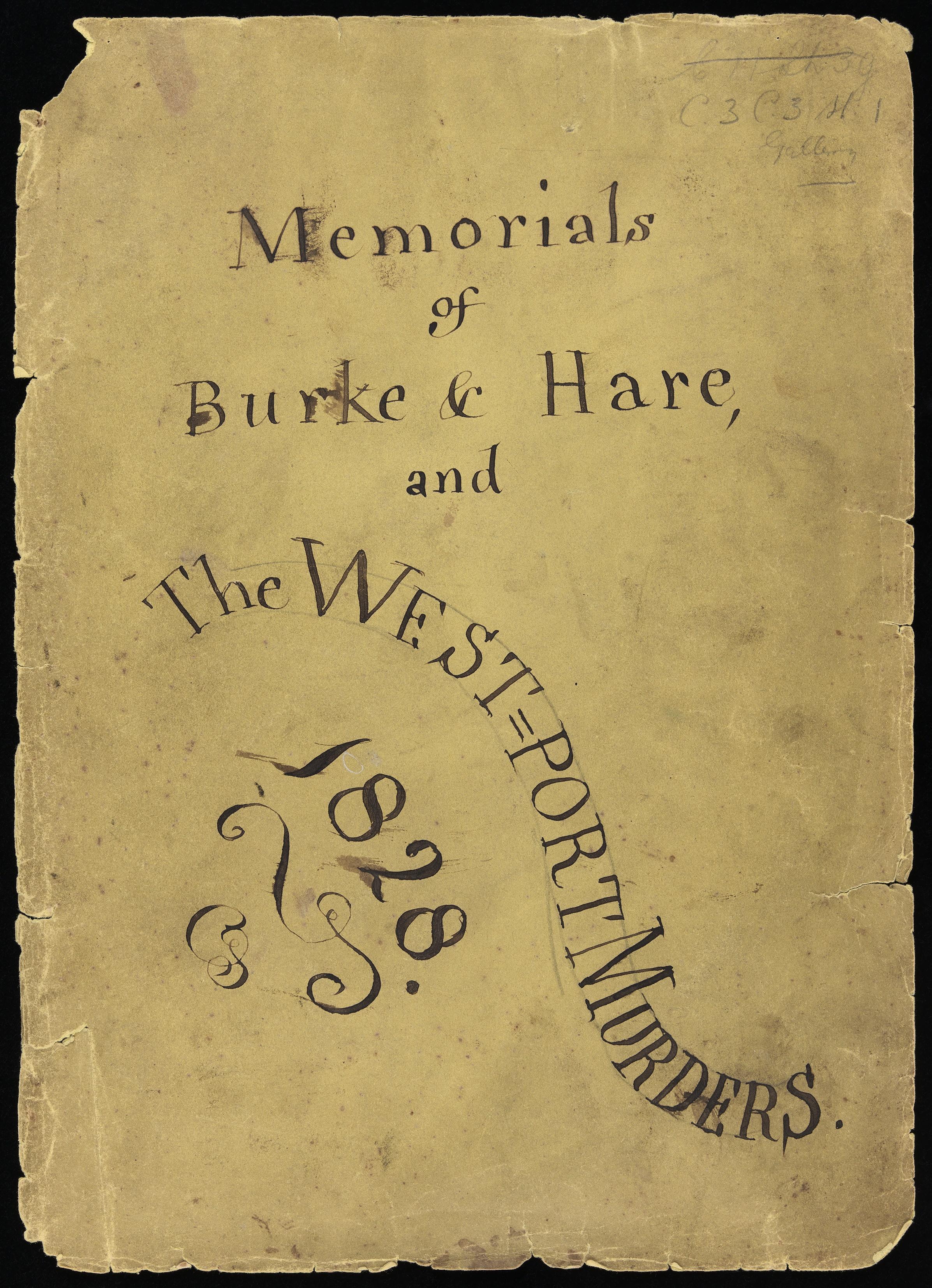 The History Blog » Blog Archive » Letter written in murderer William ...