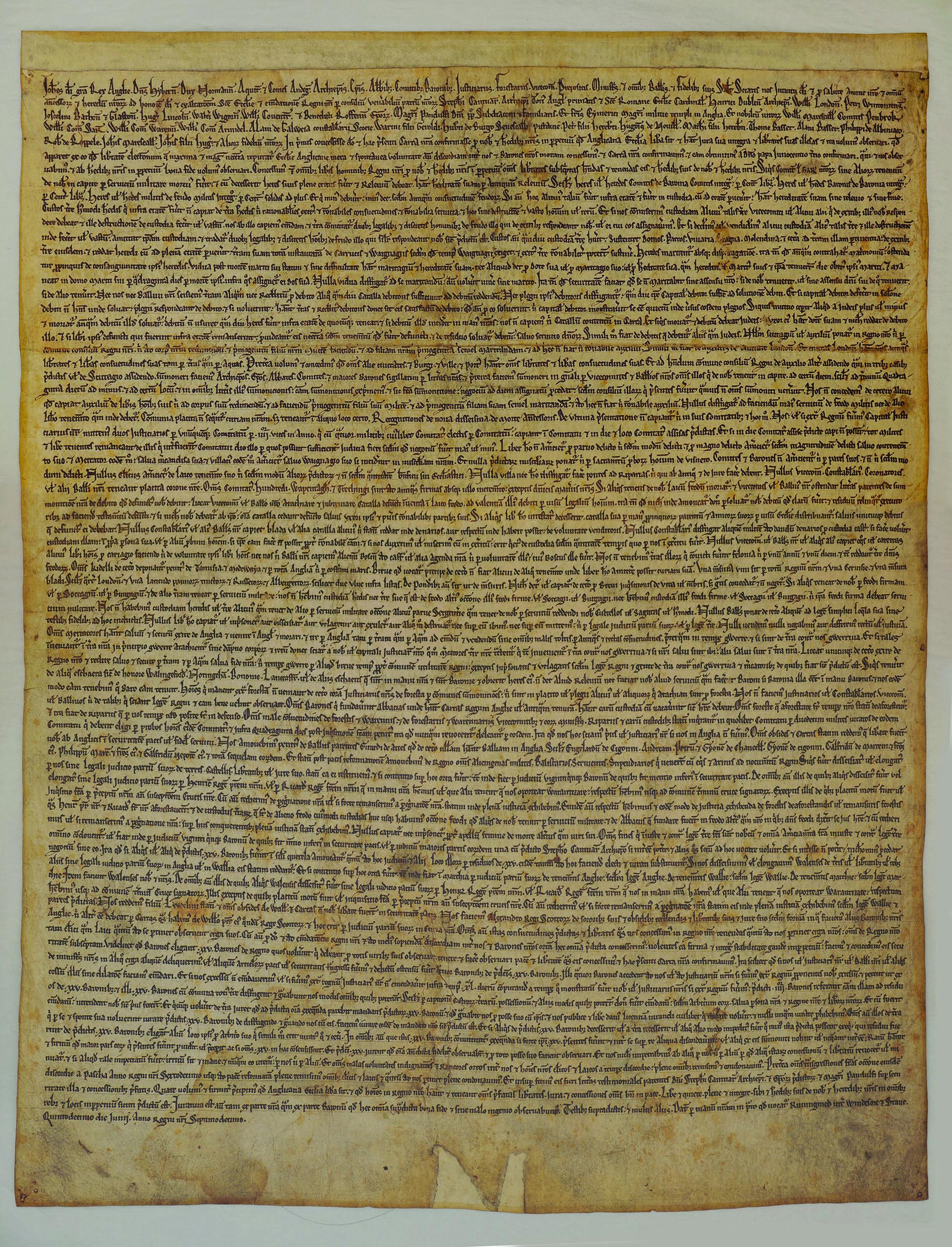 Short Essay About Magna Carta