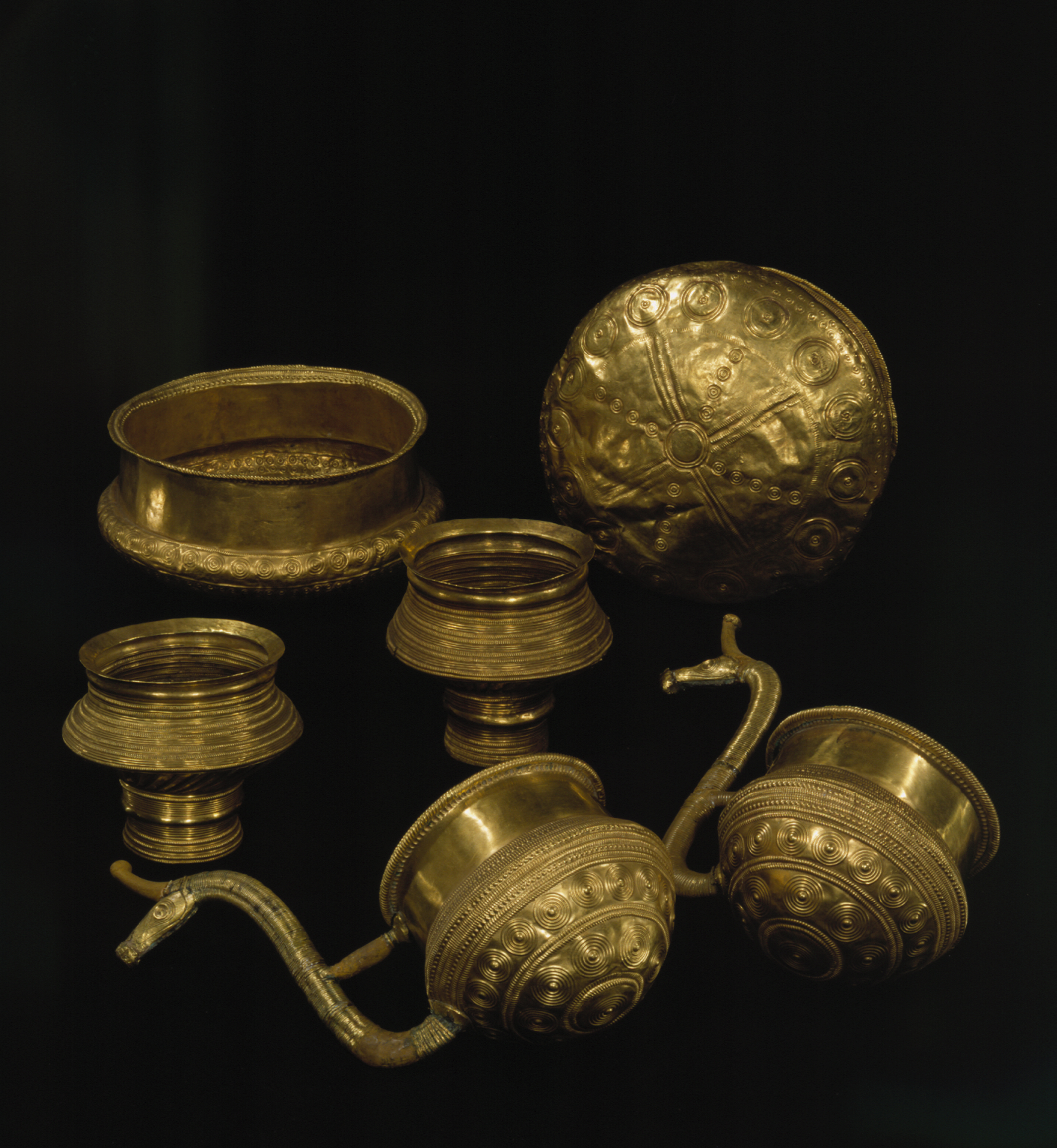 The History Blog Blog Archive 2 000 Bronze Age Gold Spirals