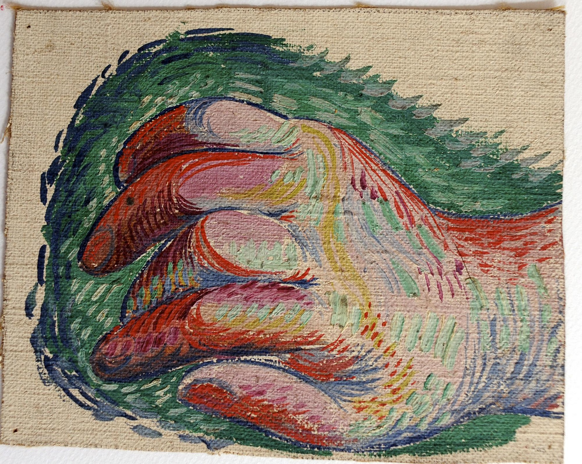 The history blog blog archive retired electrician for Watercolor paintings of hands