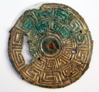 9th century Scottish or Irish buckle found in 10th century Jutland grave, Photo by Ernst Stidsing.