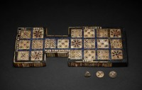 Royal Game of Ur, ca. 2600 B.C. Photo courtesy the Trustees of the British Museum.
