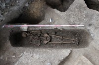 17th c. Christian grave found in Taiwan. Photo courtesy the University of Konstanz.