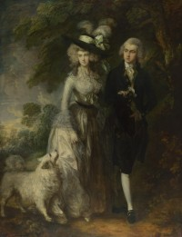 """Mr and Mrs William Hallett"" (""The Morning Walk"") by Thomas Gainsborough, 1785. The National Gallery, London."