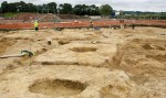 Pocklington excavation site. Photo courtesy David Wilson Homes.