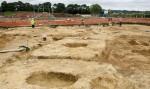 Pocklington excavation site. Photo courtesy David Wilson Homes.