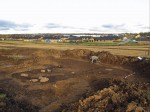 Site cleared in preliminary excavation, 2012. Photo courtesy the Museum of Skanderborg.