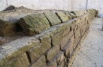 Aqueduct made of blocks of volcanic tufa in prism shape. Photo courtesy the Archaeological Superintendency of Rome.