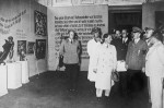 Hitler visits the blockbuster Degenerate Art exhibition in 1937.