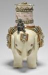 Ivory elephant automaton, front view. Royal Collection Trust/© Her Majesty Queen Elizabeth II 2017.