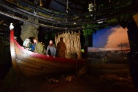 Jorvik Viking Centre's new boat recreation. Photo by Anthony Chappel-Ross courtesy the Jorvik Viking Centre.