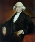 Official portrait of Supreme Court Justice James Wilson.