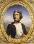 Napoleon Bonaparte in 1792, Lieutenant-Colonel of the 1st battalion of Corsican National Guards, by Henri Félix Emmanuel Philippoteaux, 1835.