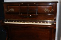 1906 Broadwood & Sons upright piano donated to The Community College of Bishops Castle. Photo by Peter Reavill.