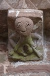 Sheela-na-Gig, Kilpeck Church. Photo by Nessy-Pic.