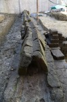 Water flowed through lead pipe, now lost. Photo courtesy the Archaeological Superintendency of Rome.