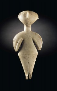 The Guennol Stargazer, ca. 3000-2200 B.C. Photo courtesy Christie's.