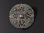 Brooch from Galloway Hoard. Photo courtesy National Museums Scotland.