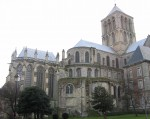 Gothic church of Fécamp Abbey. Photo by Urban.