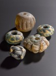 Glass beads from Scandinavia. Photo courtesy National Museums Scotland.