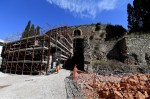 Restoration of the Mausoleum of Augustus begins. Photo by Ettore Ferrari/ANSA.