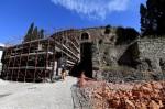 Restoration of the Mausoleum of Augustus begins. Photo by Ettore Ferrari/ANSA.