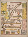 Genealogical Chronological & Geographical Chart by Jacob Skeen, 1887. Image courtesy the PJ Mode Collection.