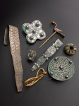 Selections from the Galloway Hoard. Photo courtesy National Museums Scotland.