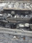 Detail of timbers in situ. Photo courtesy Beamish Transport Online.