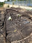 Willington Waggonway excavated in 2013. Photo by North News.